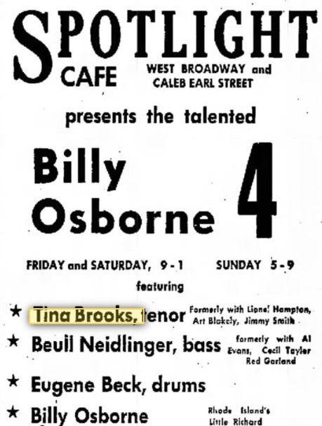 Tina Brooks - 7 january 1960 Newport .jpg