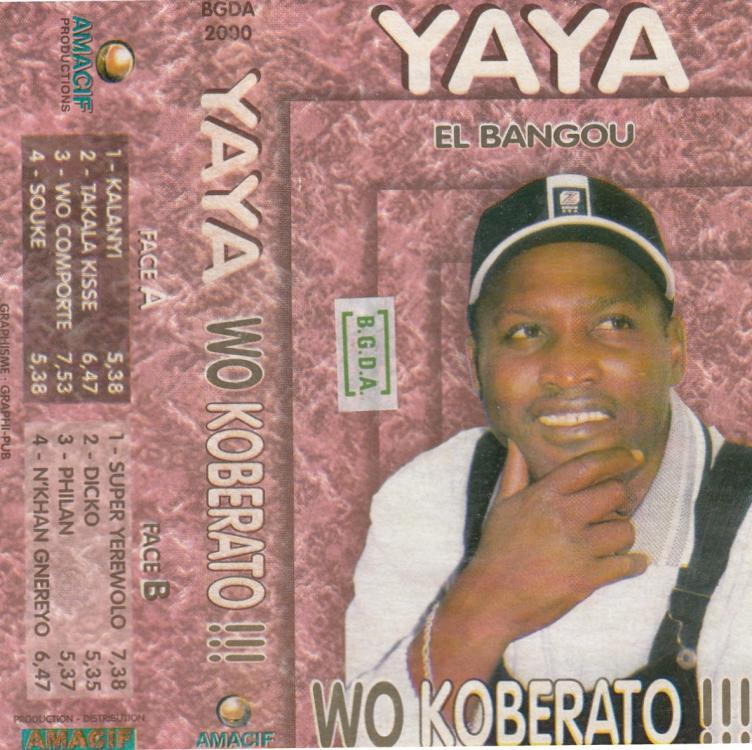 Yaya Bangoura Wo koberato front.jpg